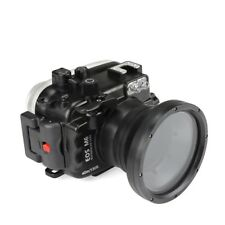 SeaFrogs 40m/130ft Underwater Camera Housing for Canon EOS M6 (18-55mm) Lens