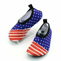 Women Water Shoes , Beach Shoes US Flag for (Men & Women)