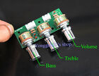 Tone Volume Bass Treble Control Board 3-Channel Subwoofer 2.1 Amplifier DIY Kits