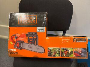 """Y79 Black & Decker CS2040 240 Volt Electric Corded Chainsaw Bar 2000 Watt 16"""""""