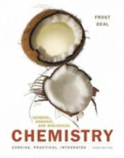 General, Organic, and Biological Chemistry 3rd Edition by Frost, D.