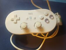 NINTENDO Wii Official Classic White Controller Control Gamepad RVL-005