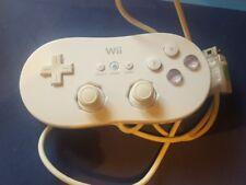 Oficial Controlador Clásico Blanco NINTENDO Wii Control Gamepad RVL-005