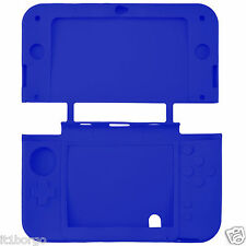 COVER IN SILICONE BLU  PER NINTENDO NEW 3DS XL BLUE