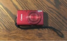 Canon PowerShot ELPH 190 IS Hd WiFi Digital Camera - Red