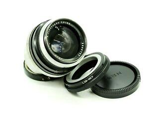 Carl Zeiss Jena JENA Flektogon 35mm F/2.8 Exakta mount M39 lens Sony E-Mount