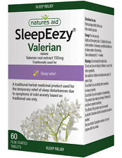 Natures Aid SleepEezy Valerian Root Extract 150mg 60 Tablets