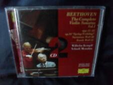 Beethoven - The Complete Violin Sonatas Vol.1 -Wilhelm Kempff / Yehudi Menuhin