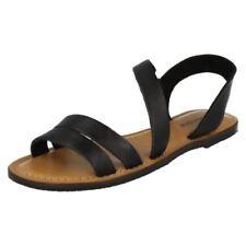 Sandalias y chanclas de mujer sin marca color principal negro talla 37