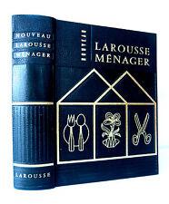NOUVEAU LAROUSSE MENAGER  - R.E. Jeanne CHANCRIN-Collectif.- Ed LAROUSSE 1955