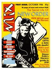 MIX Magazine October 1986 No 1 New Order Don Letts INXS Everything But The Girl