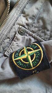 stone island vintage overshirt jacket l large top colour kaki military green