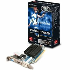 Sapphire 11190-09-20G AMD Radeon HD 6450 Silent 2GB DDR3 Graphics Card New