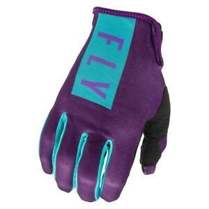 2021 Fly Racing - Women's Pro Lite Gloves - Purple/Blue - Size 08