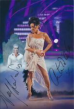 Nancy DELL'OLIO & Anton Du BEKE SIGNED Autograph Photo AFTAL COA Strictly