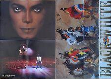 Michael Jackson poster LARGE from BW Magazine BAD Dangerous Black or White