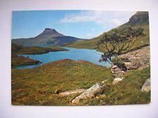 Stac Polly from Loch Lurgain. Near Achiltibuie, Lochinver etc. (J Arthur Dixon)
