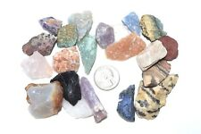 Rock Tumbling 1lb 19 Stone Guarantee From Madagascar, With Free Color I.D. Guide