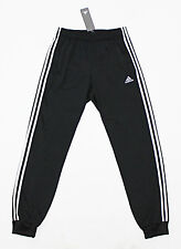 NWT ADIDAS BLACK CUFFED PANTS LARGE W/ POCKETS calabasas tiro 17 19