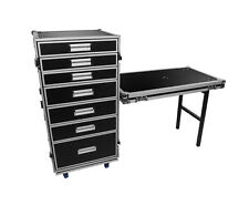 OSP 7 Drawer Utility Case ATA Road Case WorkBox Tool Pro Work Case Free Ship