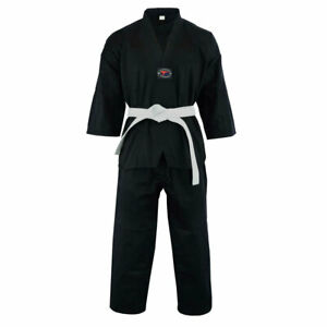 Taekwondo Uniform - Kids Adults Unisex - (Belt Included)