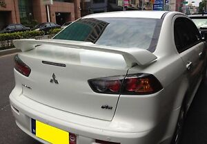 MITSUBISHI LANCER 2008-2015 4D Sedan Unpainted REAR TRUNK SPOILER OE STYLE