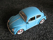 JADA Blue Volkswagen VW Beetle Scale Toy Car Bug 1:24 1959