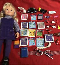 Amazing Ally Interactive Doll & Accessories - Tea Party Outfit, Books, Headpiece