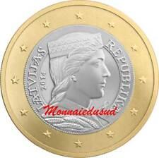 1 Euro Lettonie 2014 - Allégorie de la Lettonie