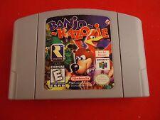 "Banjo-Kazooie  (Nintendo 64 N64) ""Not for Resale"" Cartridge Rare Store Demo!"