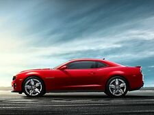 2012 Chevy Camero ZL1  ( Red Side)  24 x 36 Poster