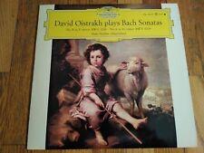 David Oistrakh plays Bach Sonatas/DGG LPM 18677 tulip labels NM