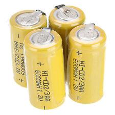 2~36 PCS AA Ni-Cd 1.2V 2/3AA 600mAh Rechargeable Battery NiCd Batteries Choose