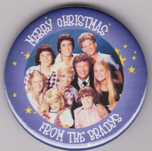 Christmas badge or keyring personalised with your photograph and text
