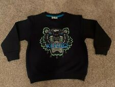Genuine Kenzo Sweater Jumper Age 3 Blue Excellent Condition