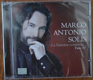 Marco Antonio Solis La Historia Continua Parte 1V - CD New! FREE SHIPPING!