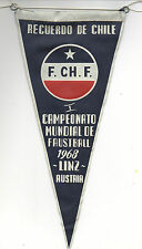Orig.Übergabewimpel 1.Faustball WM LINZ (Österreich) 1968 - Team Chile ! RARITÄT