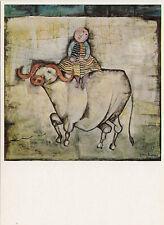Kunstkarte - Boulanger: Der weiße Büffel