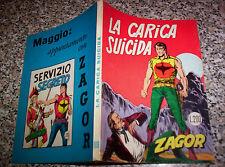 ZAGOR ZENITH N.109 ORIGINALE Q.PERFETTO TIPO TEX MARK ARALDO DOG RANGER FORD