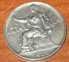 Buono da 1 Lira Italia seduta 1922 -  nr. 762