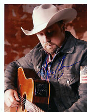 TATE STEVENS    X-FACTOR  COUNTRY  SINGER  PLAYING GUITAR   SIGNED  8X10  PHOTO