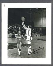 Rita Easterling signed Chicago Hustle basketball photo