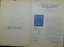 """Pubblicità WERBUNG """" BARI 1936 DITTA SEBASTIANO LOSITO già LOSITO & MORO """""""