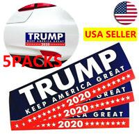 Pack of 5 Donald Trump Bumper Sticker 2020 Keep America Great Sticker US Seller