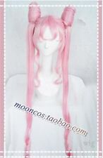 Cosplay Perücke Halloween Kostüm Weiß Sailor Moon black lady pink Anime