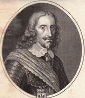 Portrait XVIIe Léopold-Guillaume de Habsbourg  Leopold Wilhelm von Österreich