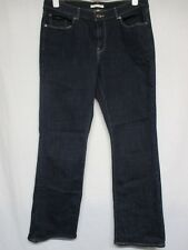 Levi's Bold Curve Classic Boot Cut Women's Dark Blue Jeans Size 14/36    D7
