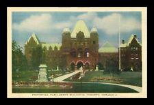 Canada 1915-1930 Postcard: Provincial Parliament Buildings, Toronto - pc124