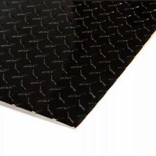 4 X 8 Black Aluminum Diamond Plate Sheet Starbrite 025 Thick Gloss Black