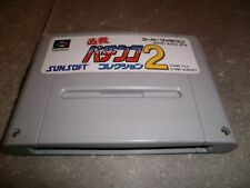 JEU NINTENDO SUPER FAMICOM (SNES JAP): HISSATSU PACHINKO COLLECTION 2 - loose